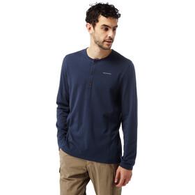 Craghoppers NosiLife Newark - Camiseta de manga larga Hombre - Long Sleeved azul